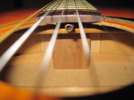 Truss Rod pada Gitar Akustik